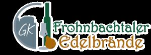 Frohnbachtaler Edelbrände Logo