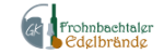 Frohnbchtaler Edelbrände Logo